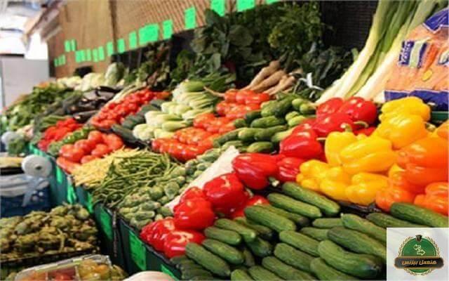 تصدير الخضروات والفاكهة